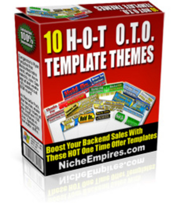 Product picture 10 One Time Offer Templates