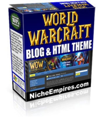 Product picture World Of Warcraft Blog Theme