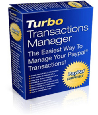 Product picture Turbo Transactions Manager