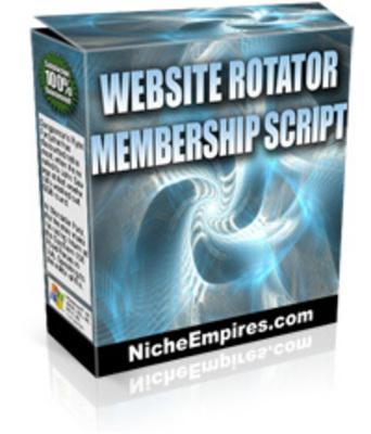 Product picture Website Rotator Membership Script