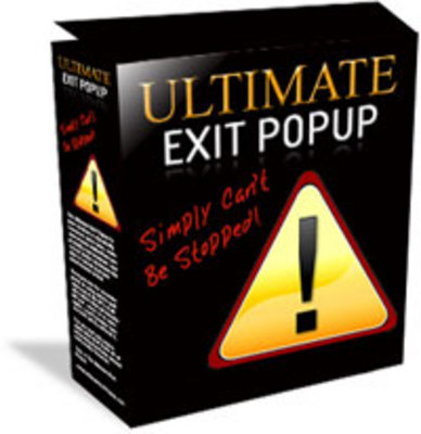 Product picture Ultimate Exit Pop-Up