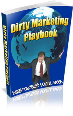 Product picture Dirty Marketing Playbook -  PLR