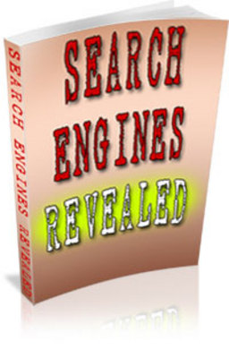 Product picture Search Engines Revealed - PLR